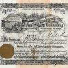 American Aerial Navigation Company - Historische Aktie von 1904. Mit dem von ihm gebauten